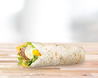 Pusryčių McWrap™ su <br>kiauliena ir kiaušiniu